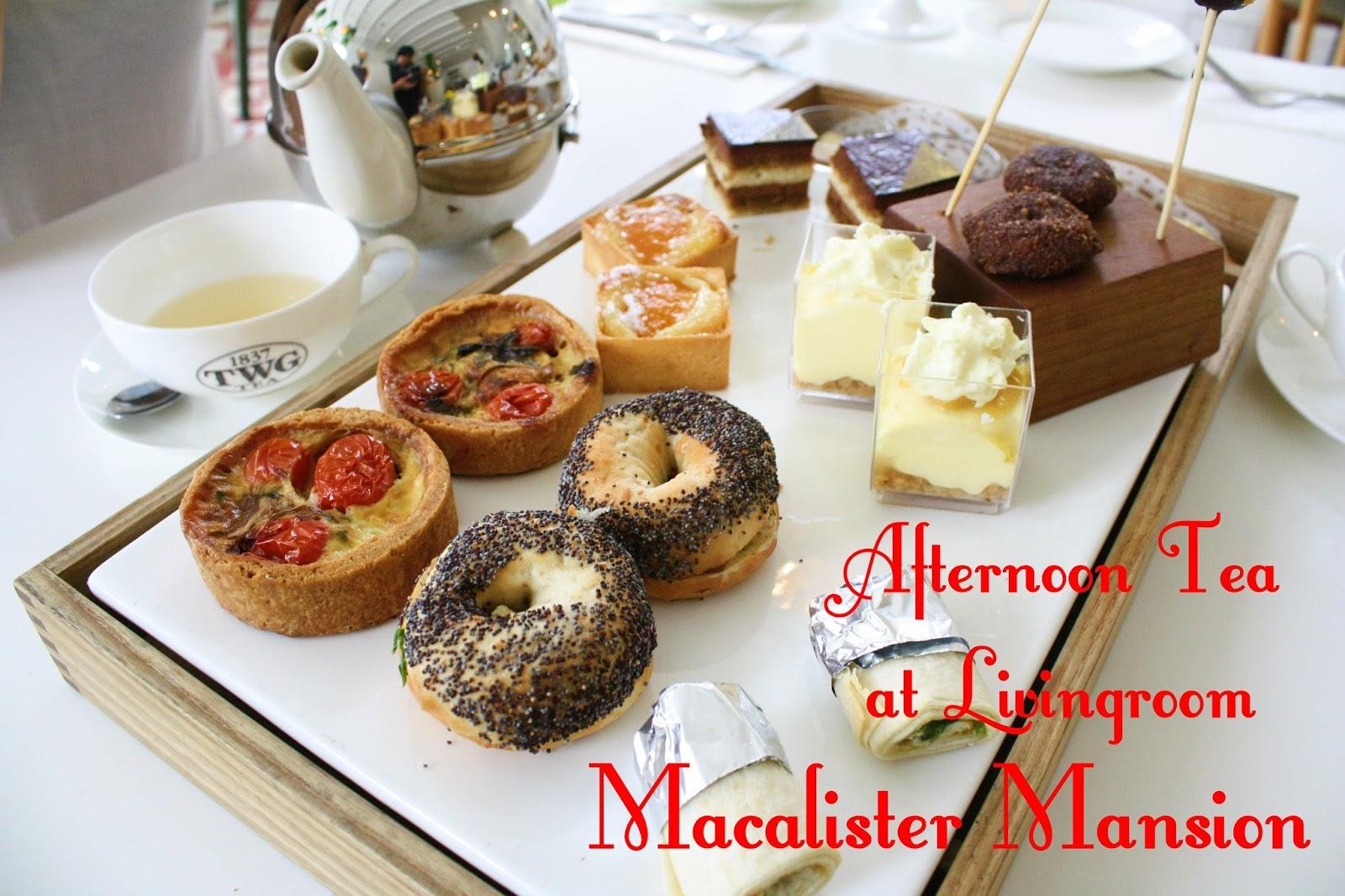 Afternoon Tea At Livingroom Macalister Mansion Penang Geret Koper