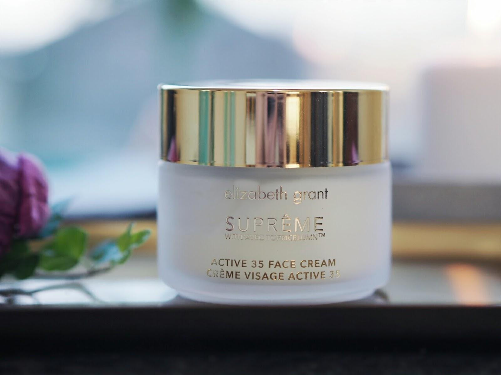 Elizabeth Grant supreme active 35 face cream review