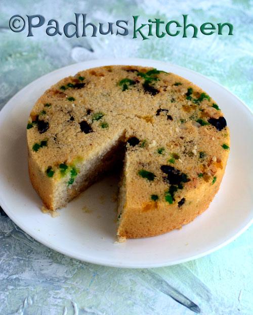 Eggless rava cake sooji cake semolina sweet cake recipe padhuskitchen eggless rava cake forumfinder Choice Image