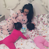 Adorable photo of Nadia Buari and her twin girls