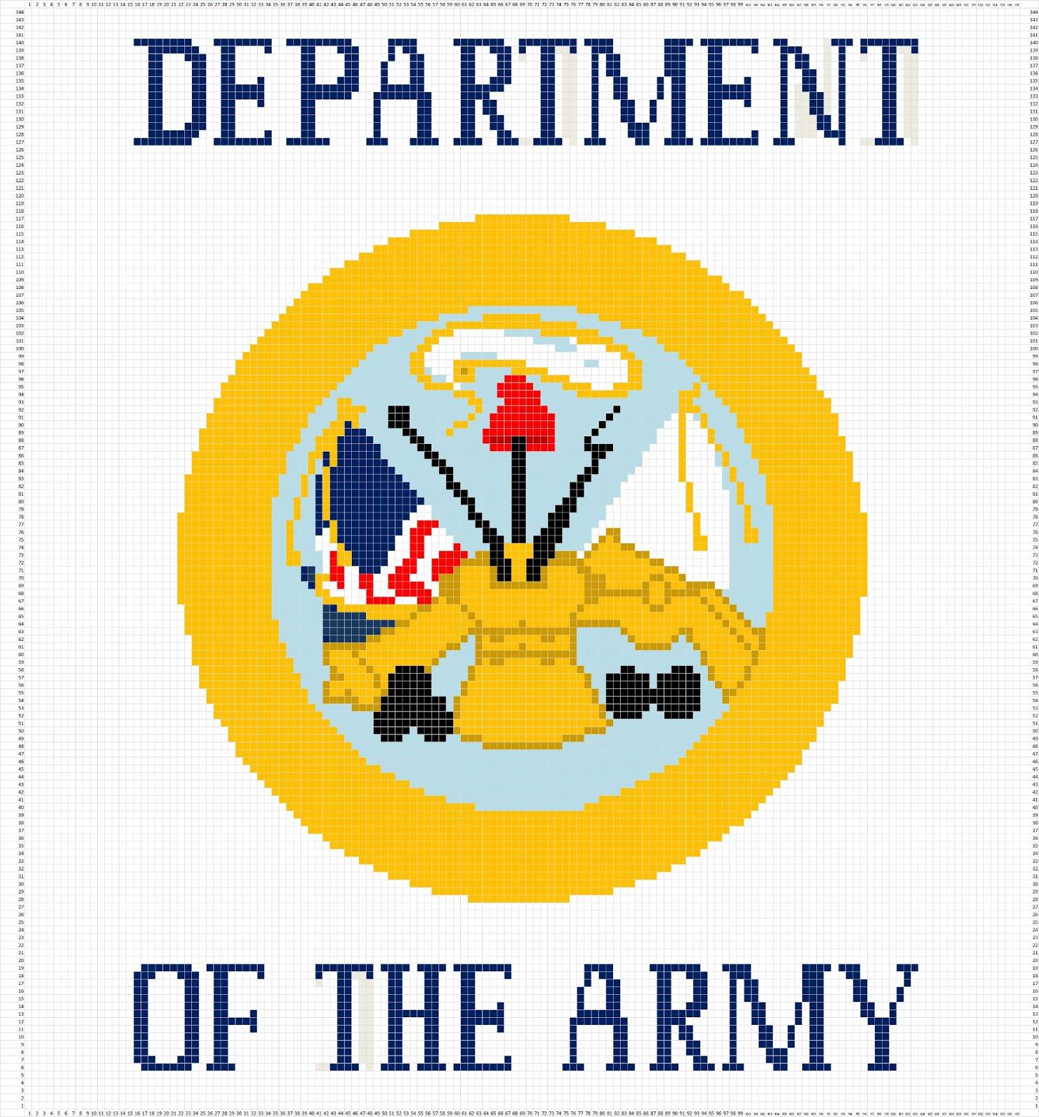 Crochet Parfait Marine Corps Afghan Written Pattern Stitch Diagram Patterns Diagrams Army Chart