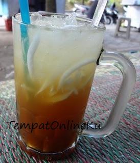 es kelapa saus gula merah