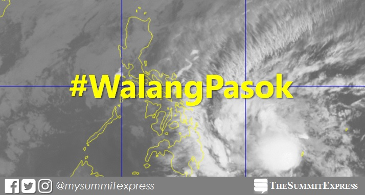#WalangPasok: Class suspensions on Monday, February 12, 2018