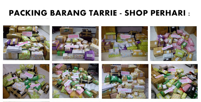 packing barang tarriekosmetik
