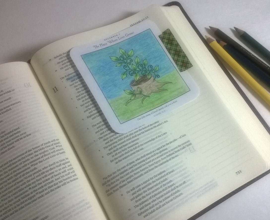 Bible Journaling Through Advent with Unwrapping the Greatest Gift by ...
