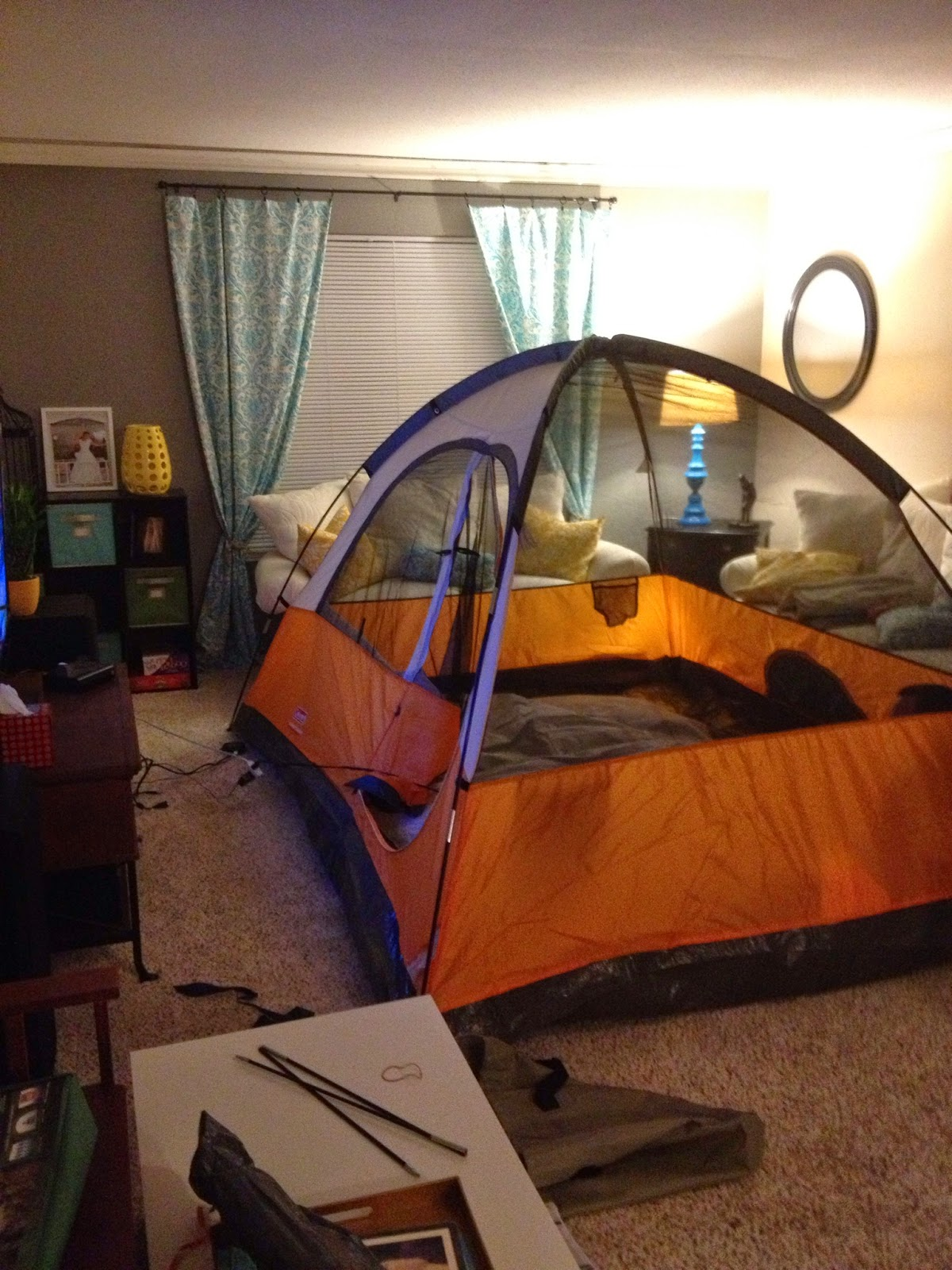 Holden The Fort Down : Living Room Campout :)
