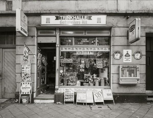 Tata Ronkholz - Beverage kiosk, Düsseldorf, Hermannstraße 31, 1978