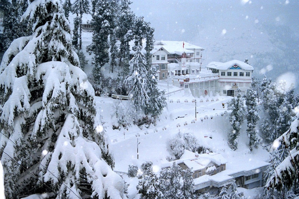 Mountain shimla shashank snowfall india wallpaper nature.
