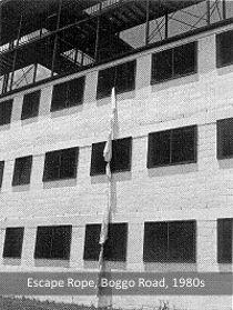 Escape rope, No.1 Division, Boggo Road, Brisbane, 1980s.