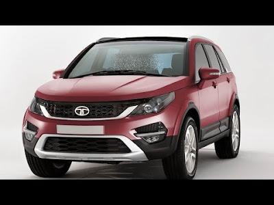 Tata-Hexa-SUV Red Image