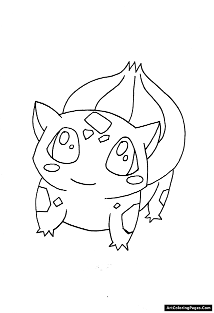 Pokemon Coloring Pages  Bulbasaur