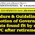 Procedure & Guidelines for Promotion of Government servants found fit by review DPC after retirement - DoPT OM dated 15-11-2018