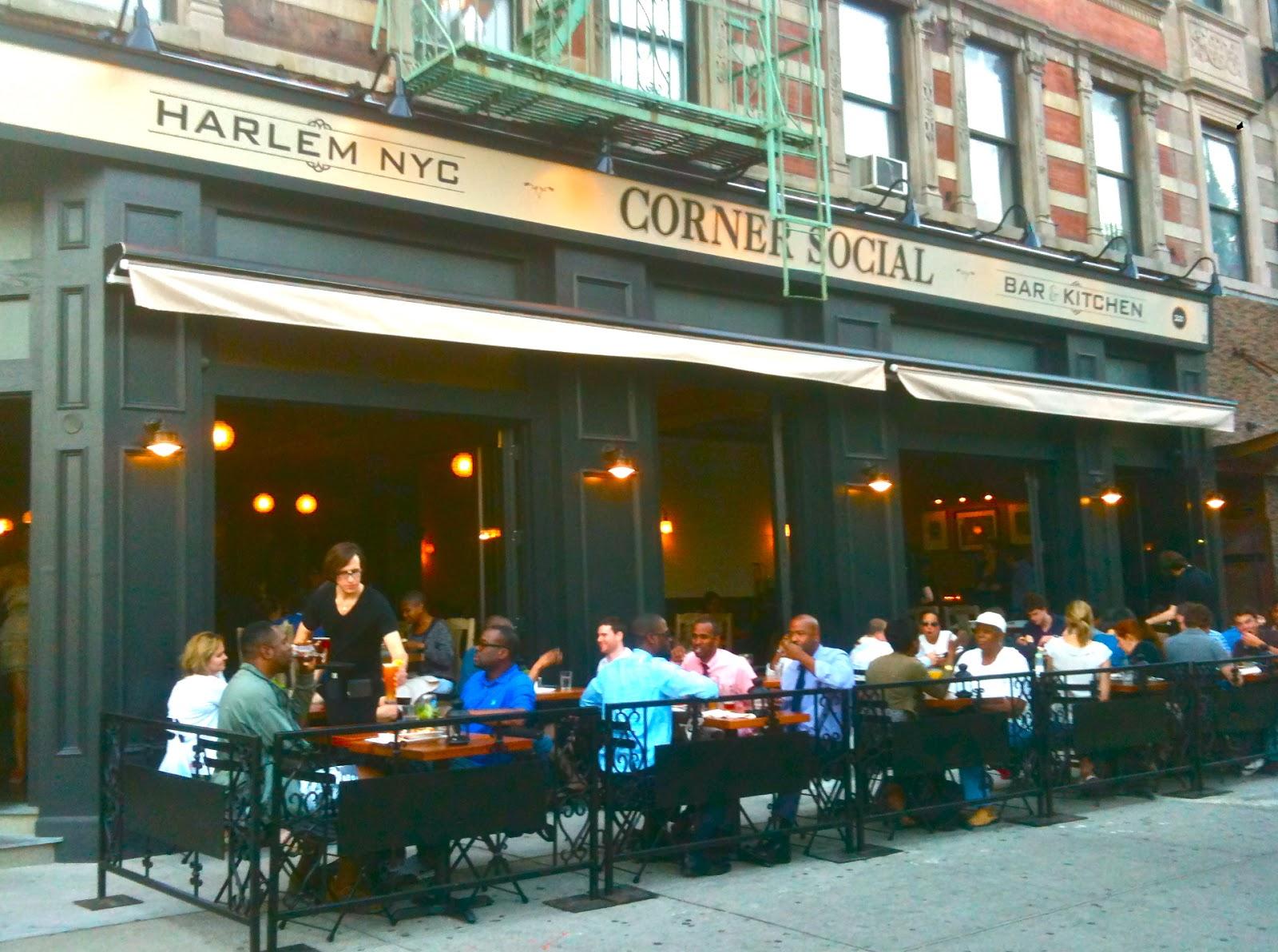 Eat Outdoor Seating At Corner Social