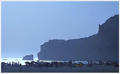 Portugal; sem guia; Europa; praia; oceano atlântico; Nazaré; Praia do norte