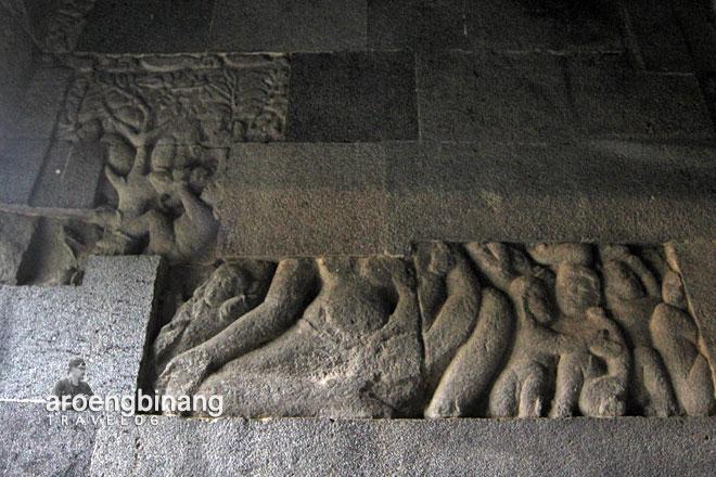 candi banyunibo sleman yogyakarta relief hariti