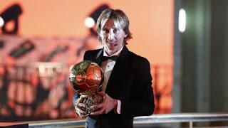 Luka Modric Wins Balon D'or