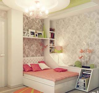 ديكورات غرف نوم فتيات