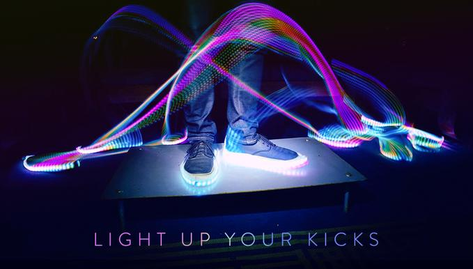 Glowing Nike Shoes Yeezy