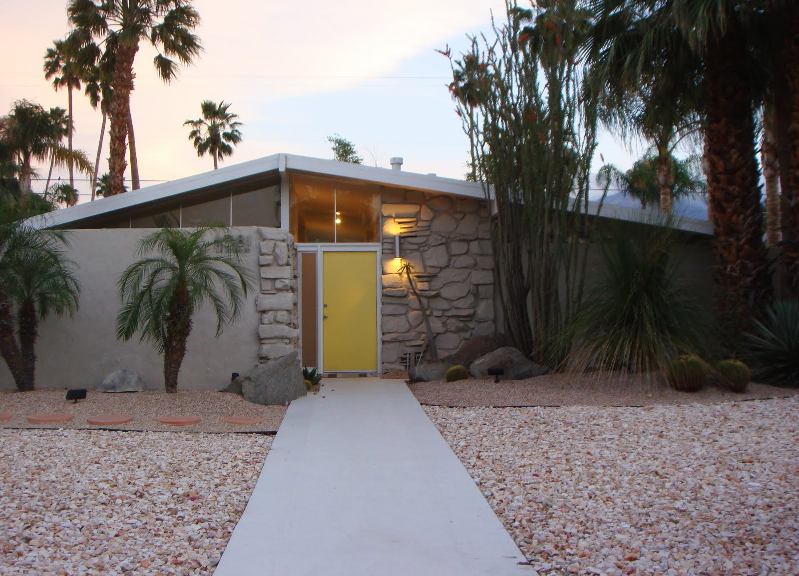 Mid Century Modern Wall Sconce Palm Springs