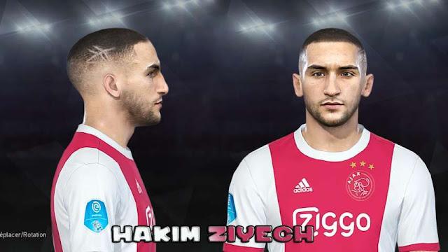 Hakim Ziyech Face PES 2018