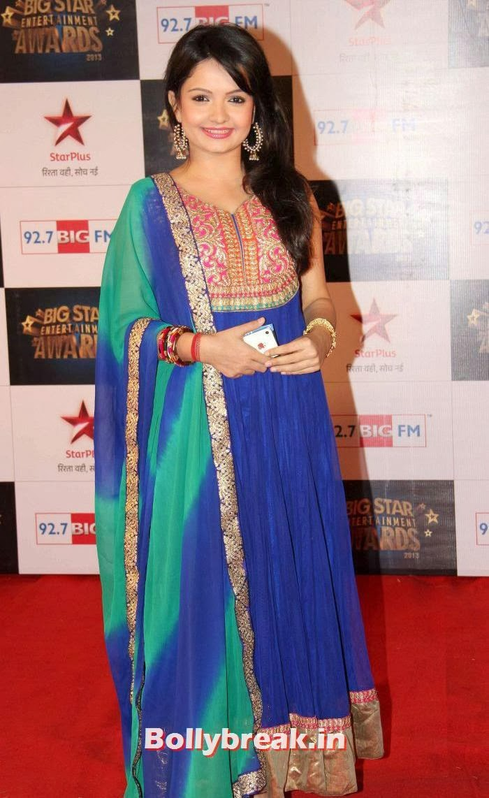 Giaa Manek, Tv babes Sizzle on Big Star Entertainment Awards 2013 Red Carpet