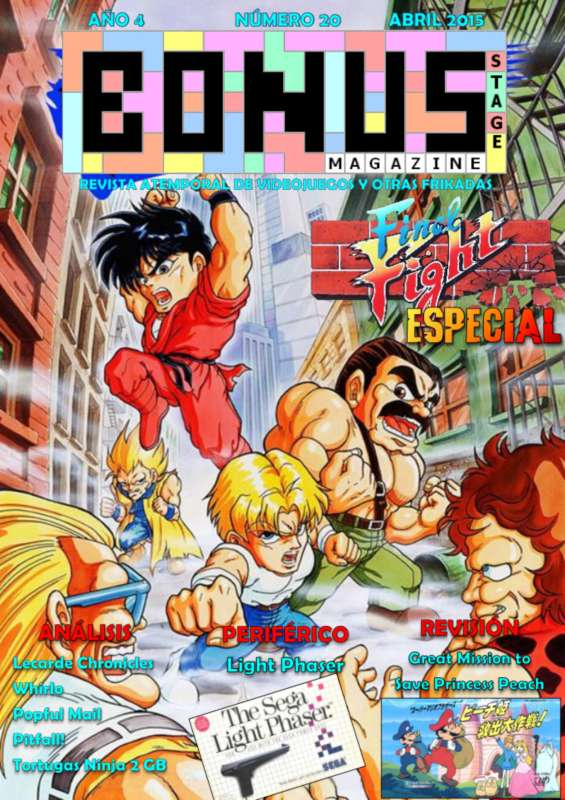 Bonus Stage Magazine #20 Especial Final Fight (20)