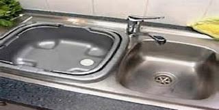 Wow!! 5 Trik Jitu Sink Wastafel Dapur Rumah Jadi Kinclong