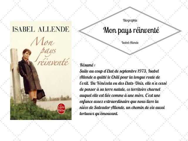 Isabelle Allende Mon pays réinventé