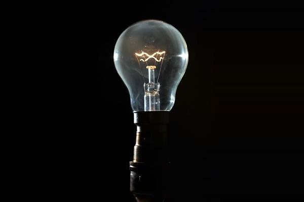 Instalaciones eléctricas residenciales - Foco incandescente, fuente de luz artificial