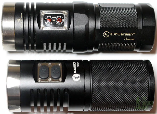 Lumintop SD4A [4xAA LED Flashlight] - With Sunwayman D40A