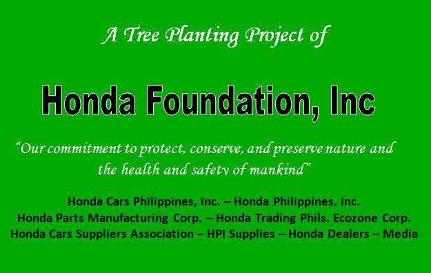 Honda Plants 5,000 Trees in Rizal, Laguna