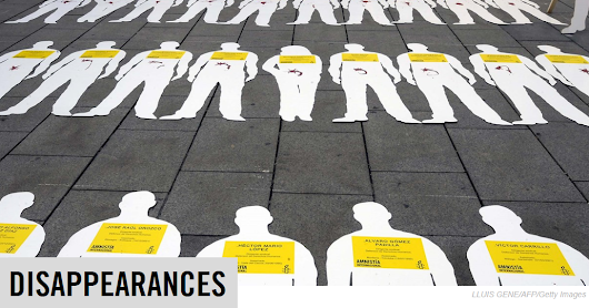 International Day of the Victims of Enforced Disappearances 2016, Augusto 30.