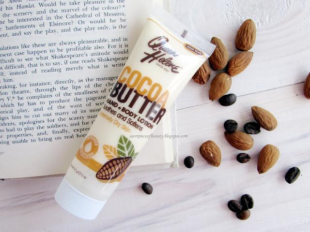 Лосьон для рук и тела с какао-маслом Queen Helene