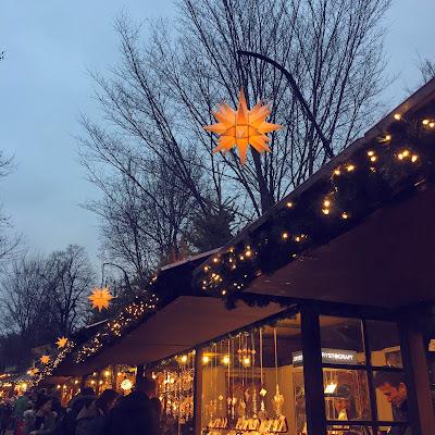 Hyde Park's Winter Wonderland stalls  London