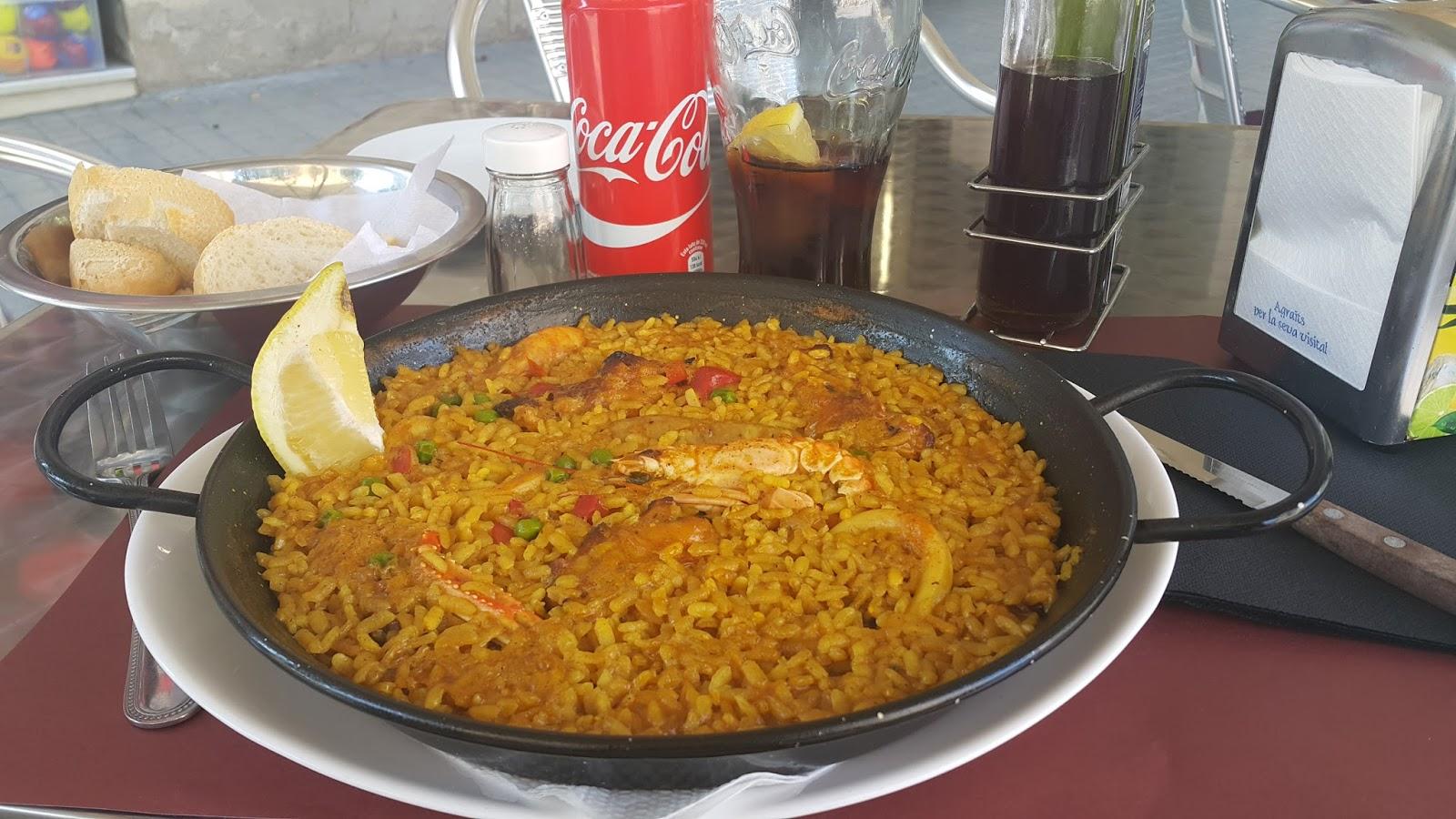 paella, barcelona