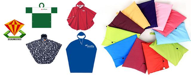 Nhận làm áo mưa cánh dơi cho công ty phân bón, thuốc bảo vệ thực vật