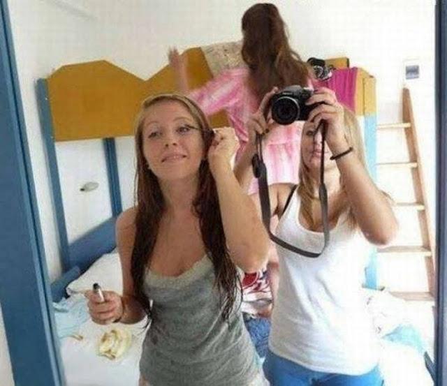 Cuidado com as selfies das amigas…
