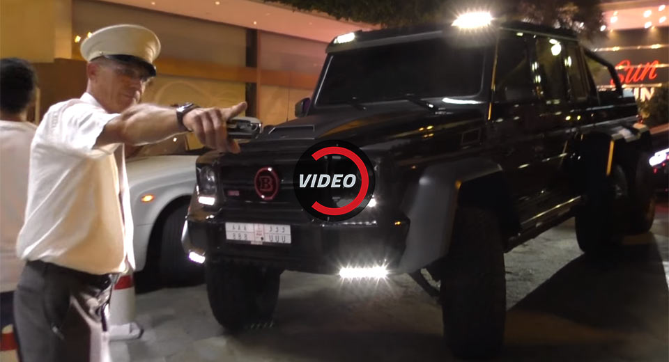 Life Must Suck When You Can't Park Your Brabus 6x6 In Monaco