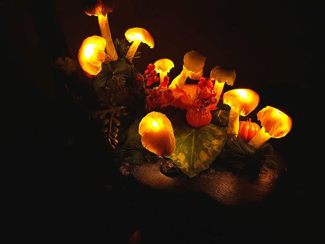 Heidididit - sieni valo. ohje. tee se itse. rakenna sienivalo