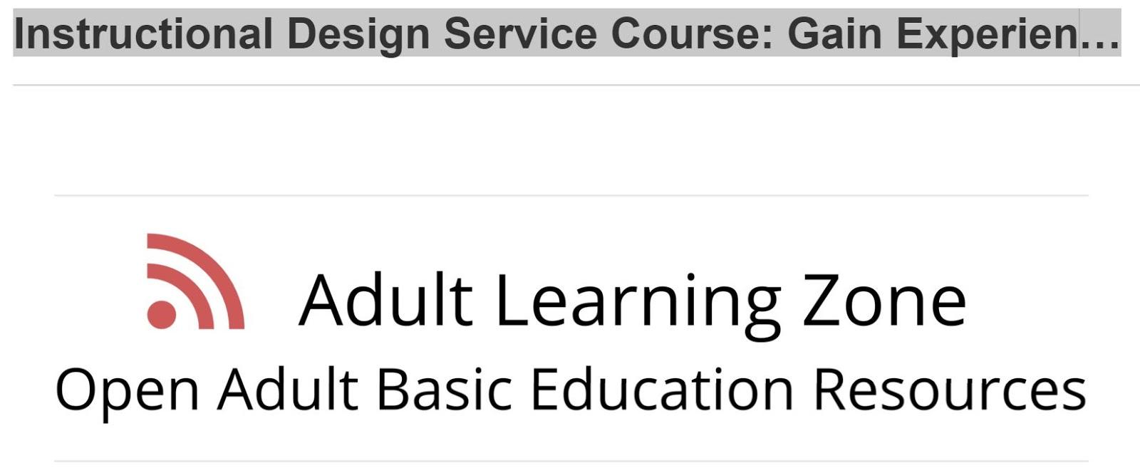 Ignatia Webs 2 Worthwhile Courses Personal Learning Designing