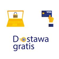 darmowa dostawa z Pocztą Polską i Visa