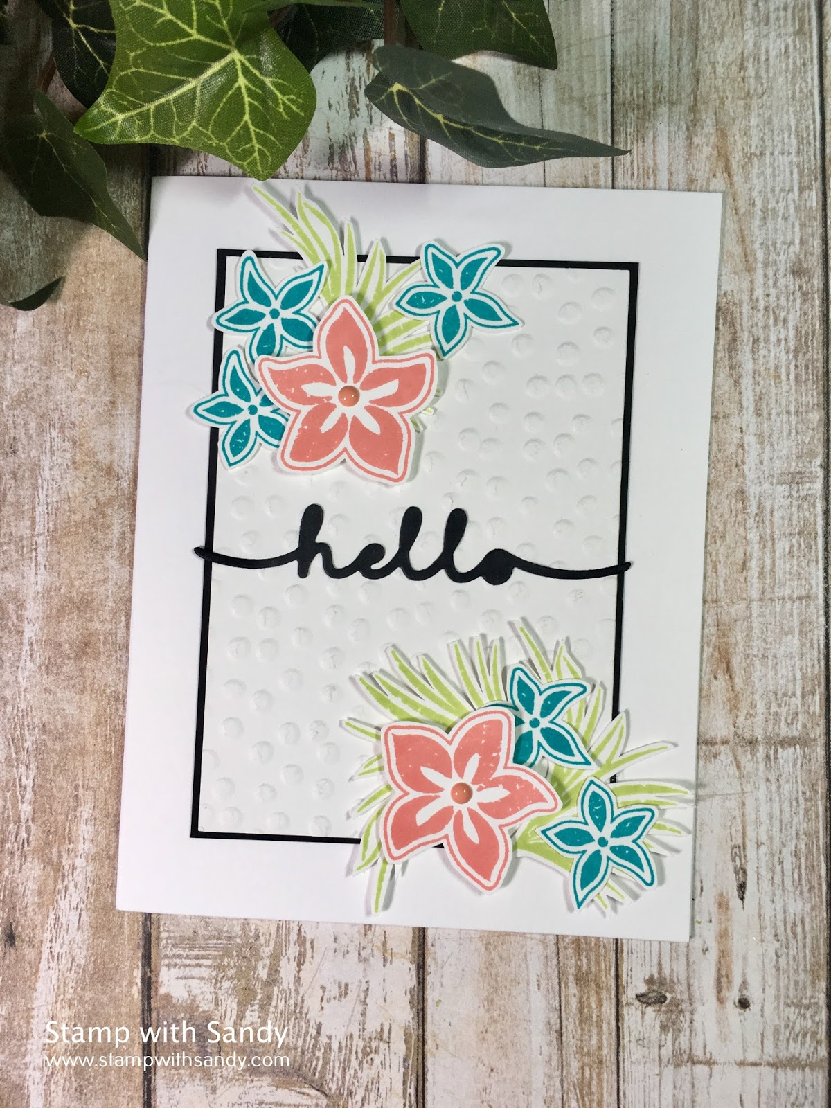 I Have A U0027just For Funu0027 Card Today, Playing Along With A Couple Of  Challenges, And Using Some Real Oldie But Goodies. The Tropical Party Stamp  Set Is One Of ...
