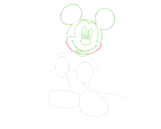 HOW TO DRAW A MickyMouse