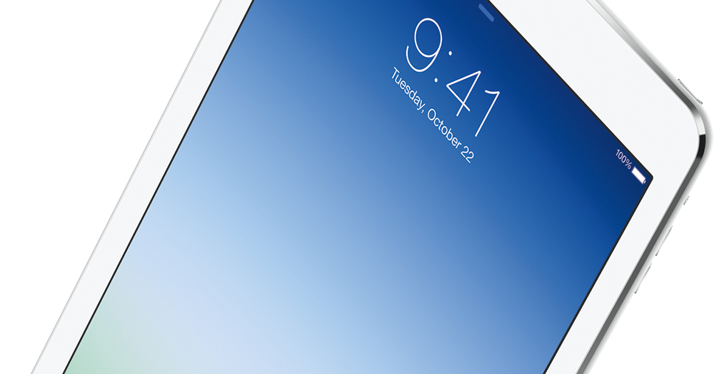 Apple iPad Air officially announced - Now thinner, lighter with upgraded hardware