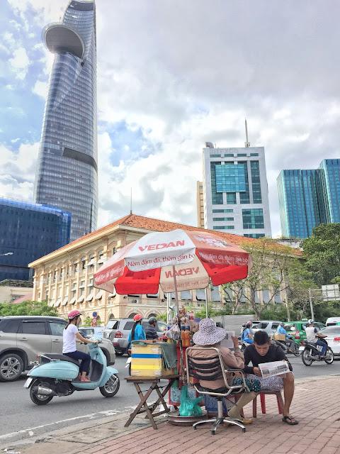 Bitexco Tower, Ho Chi Minh, vietnam bez cestovky, dovolená vietnam