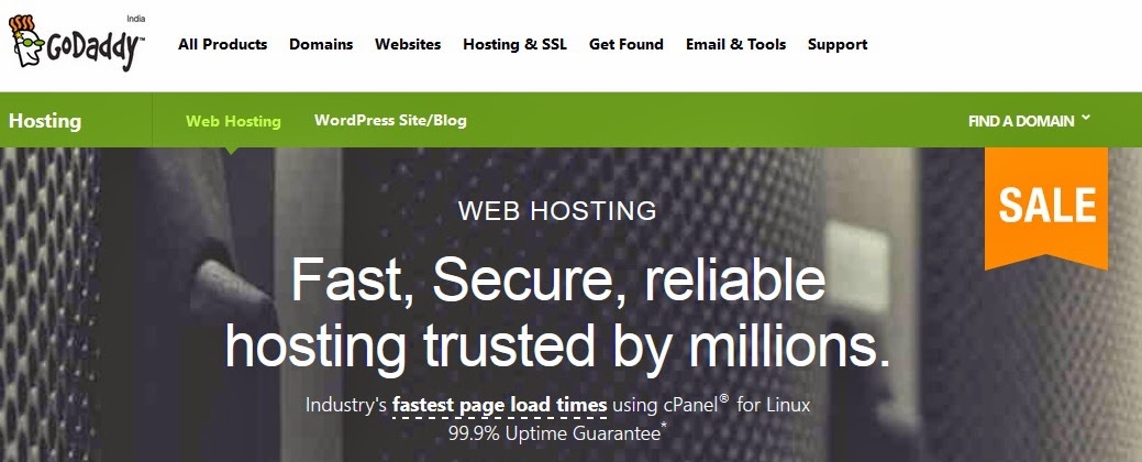 How to Host a Domain Using GoDaddy Service : easkme