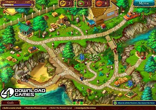 لعبة الاطفال الحديقة Gardens Inc للكمبيوتر