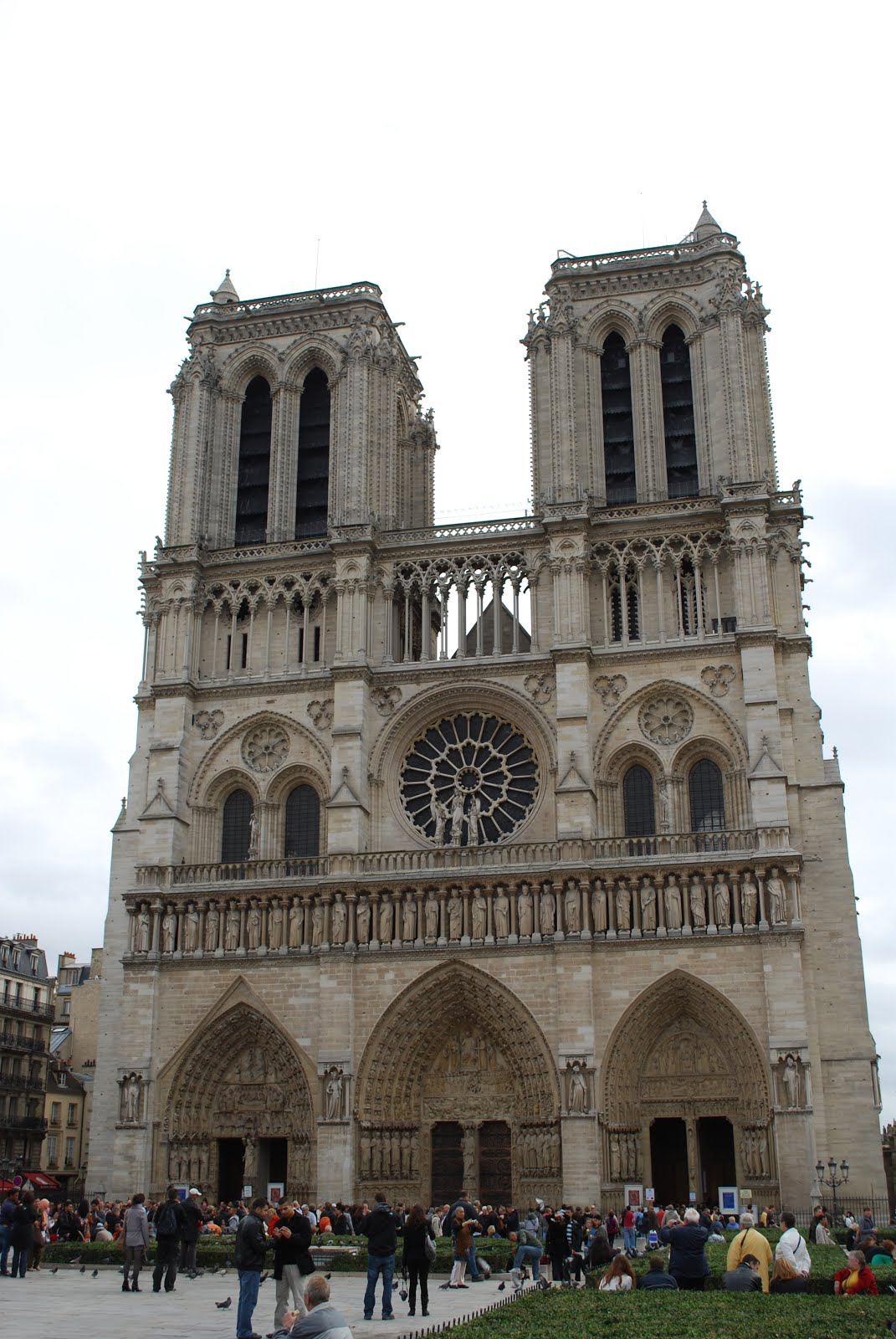 Fire damages Notre Dame in Paris