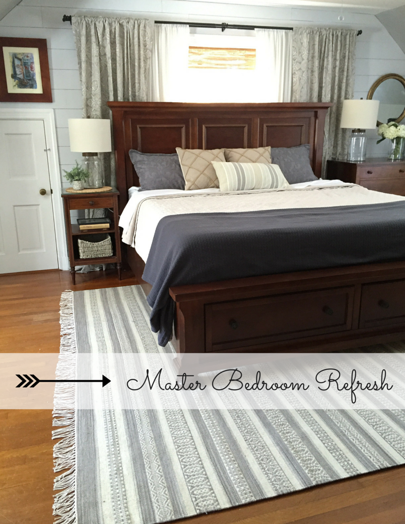 Neutral Master Bedroom Life To The Brim Master Bedroom Refresh A Neutral Palette And