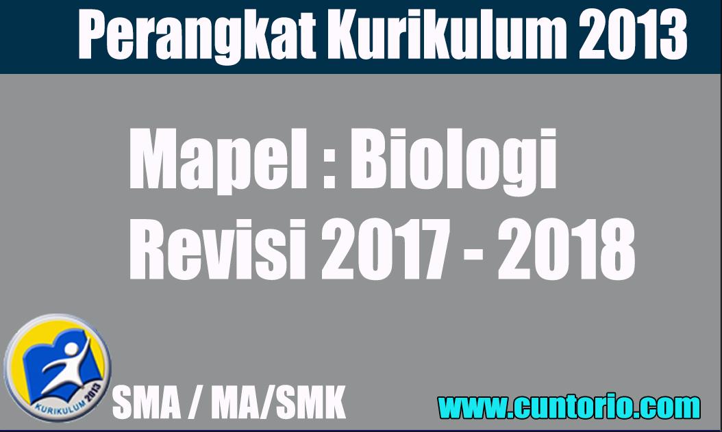 RPP K13 Biologi Kelas X XI dan XII Revisi Lengkap